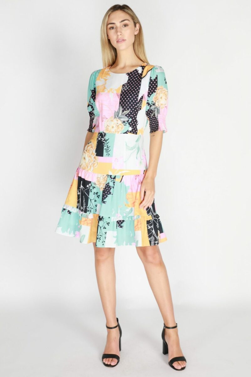 Kelly Dress Print