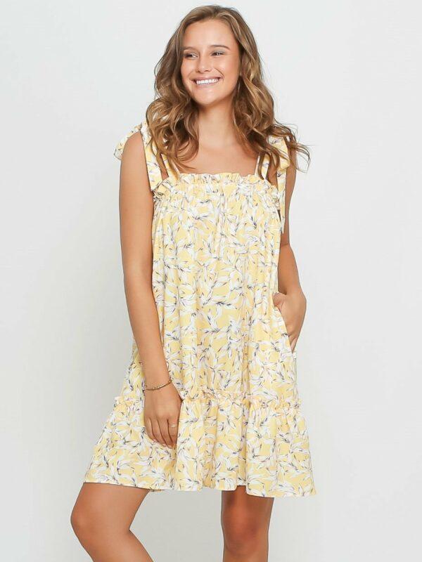 Lilly Dress Yellow