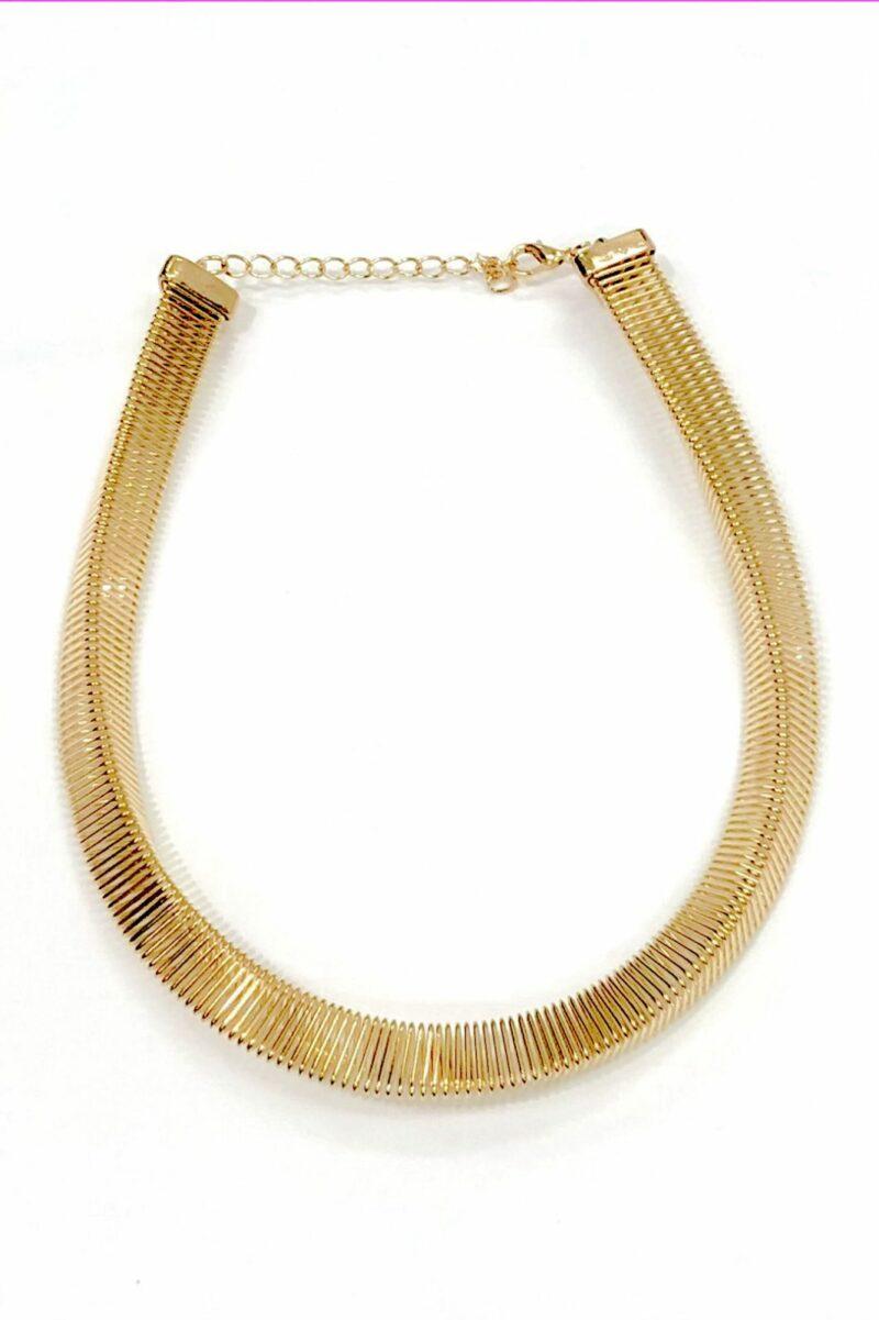 3D Necklace Silver